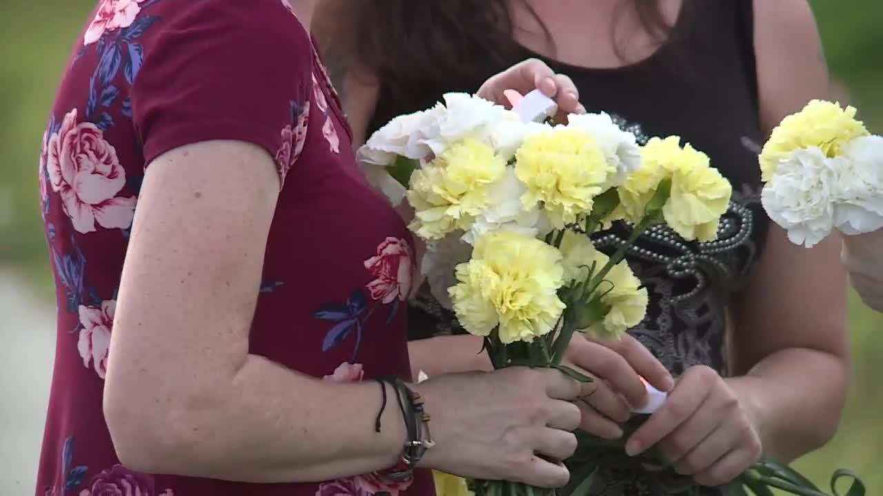 Memorial walk held in honor of mother killed