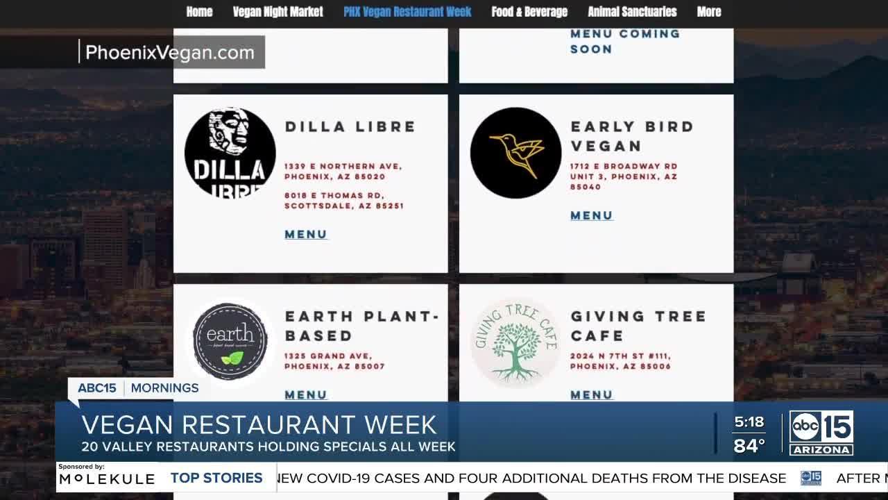 Vegan Restaurant Week runs from Sept 12-18, 2021