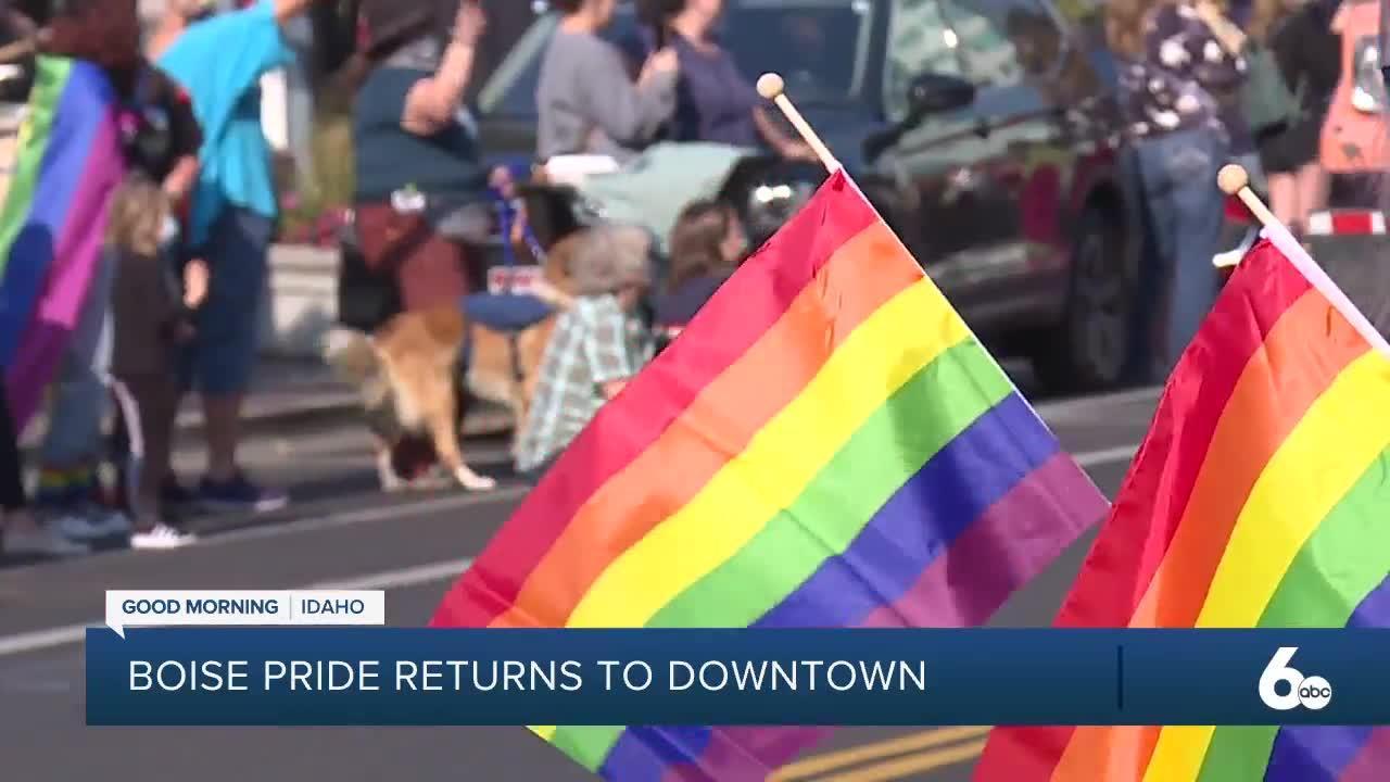 Boise Pride Parade Returns after 2020 Cancellation