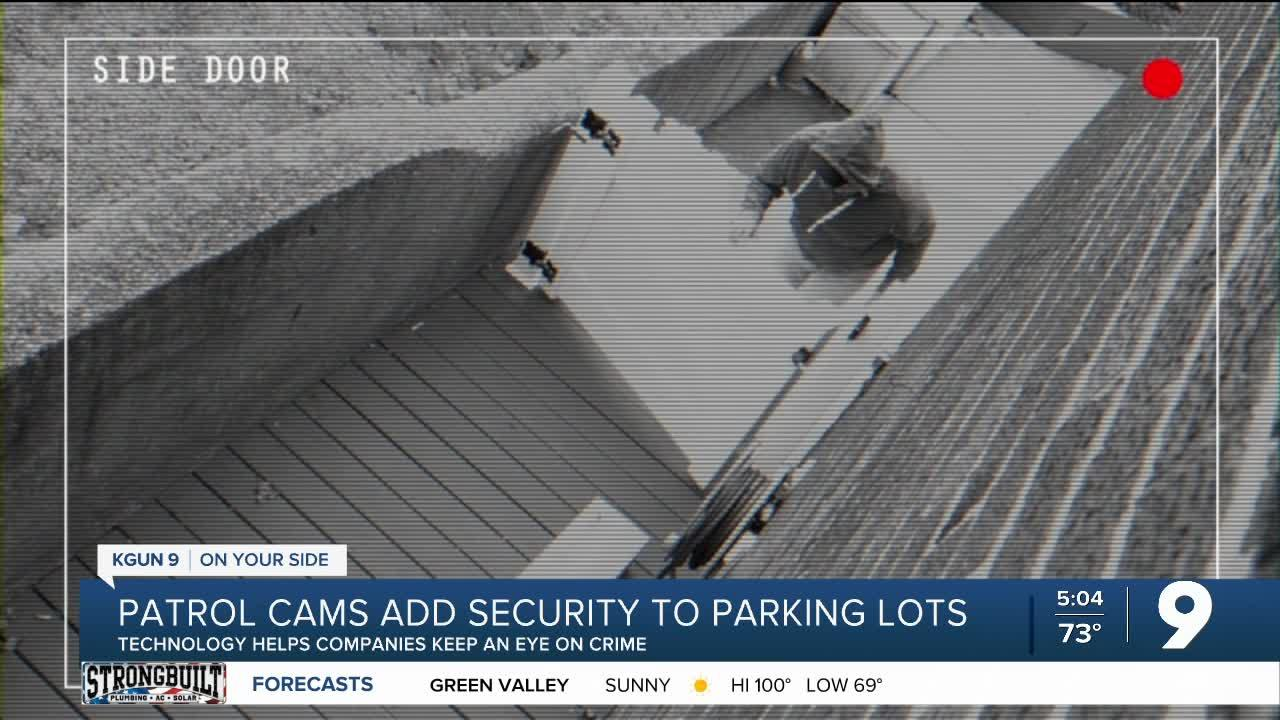 Patrol cams adding more security to local parking lots
