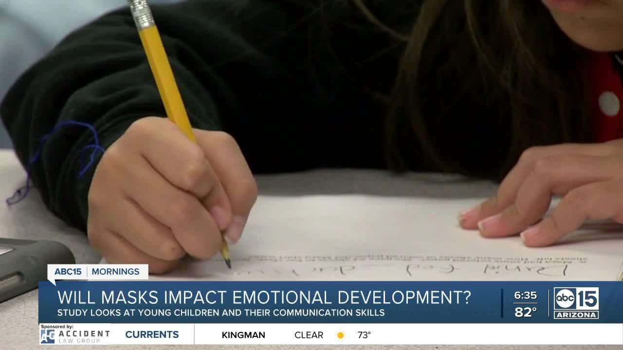 Will masks impact emotional development among children?