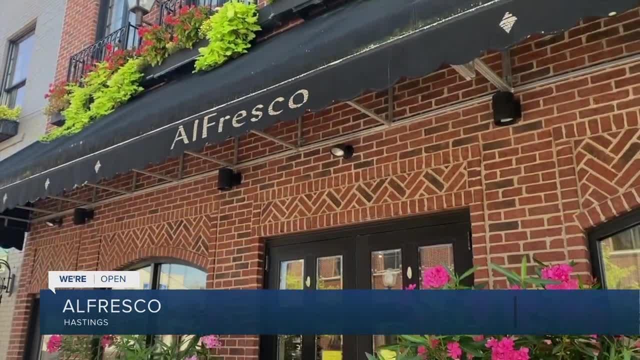 We're Open: Alfresco store and suites