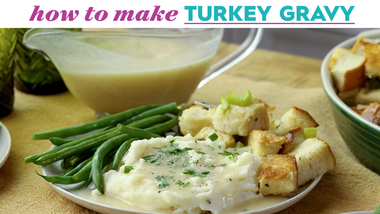 How to Make Turkey Gravy... Without Roasting a Turkey?!   Eat this Now   Better Homes & Gardens