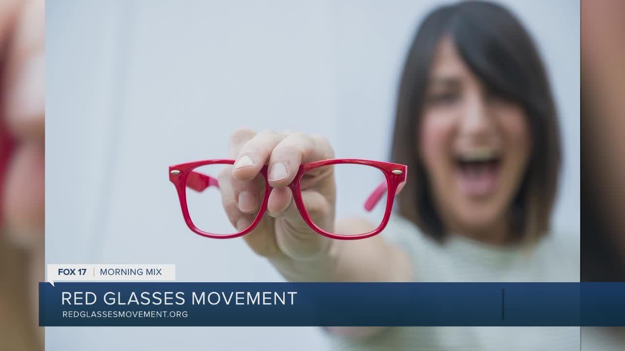 Red Glasses Movement inspires others to live boldly and love big