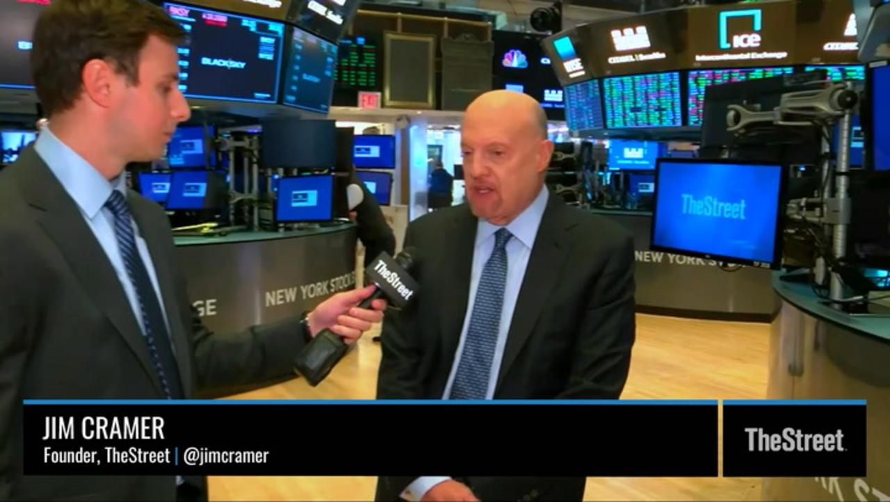 Jim Cramer: Monday's Market Rally Isn't Sustainable