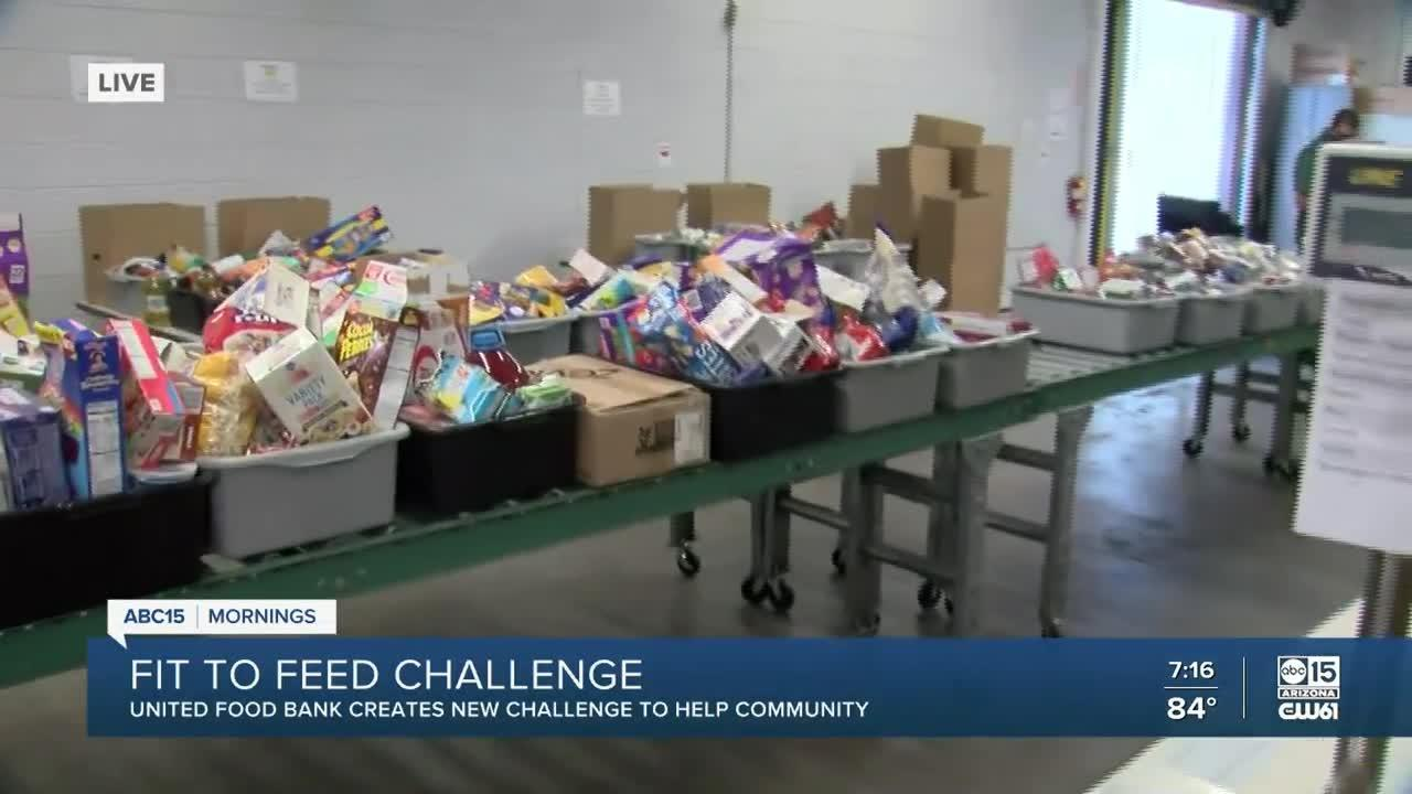 United Food Bank creates new challenge to help the community