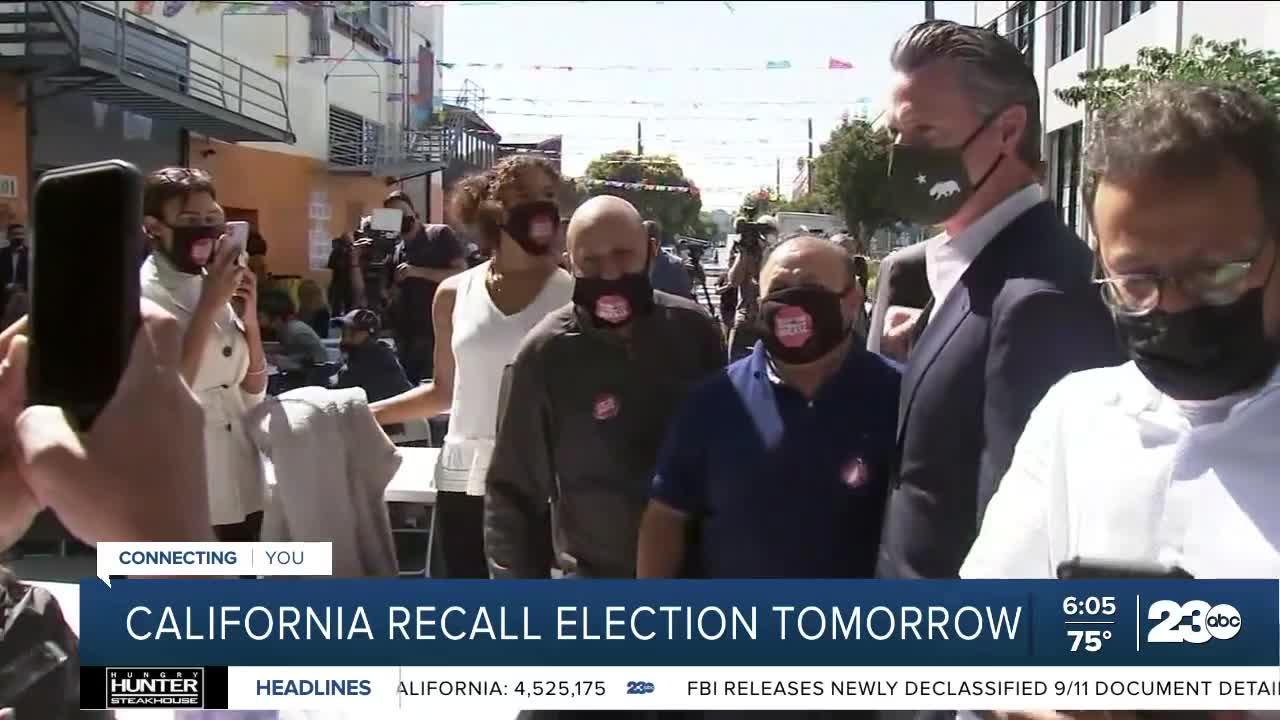 California recall election enters final stretch
