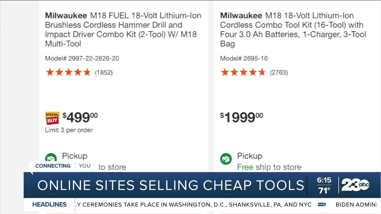 Online sites selling cheap tools