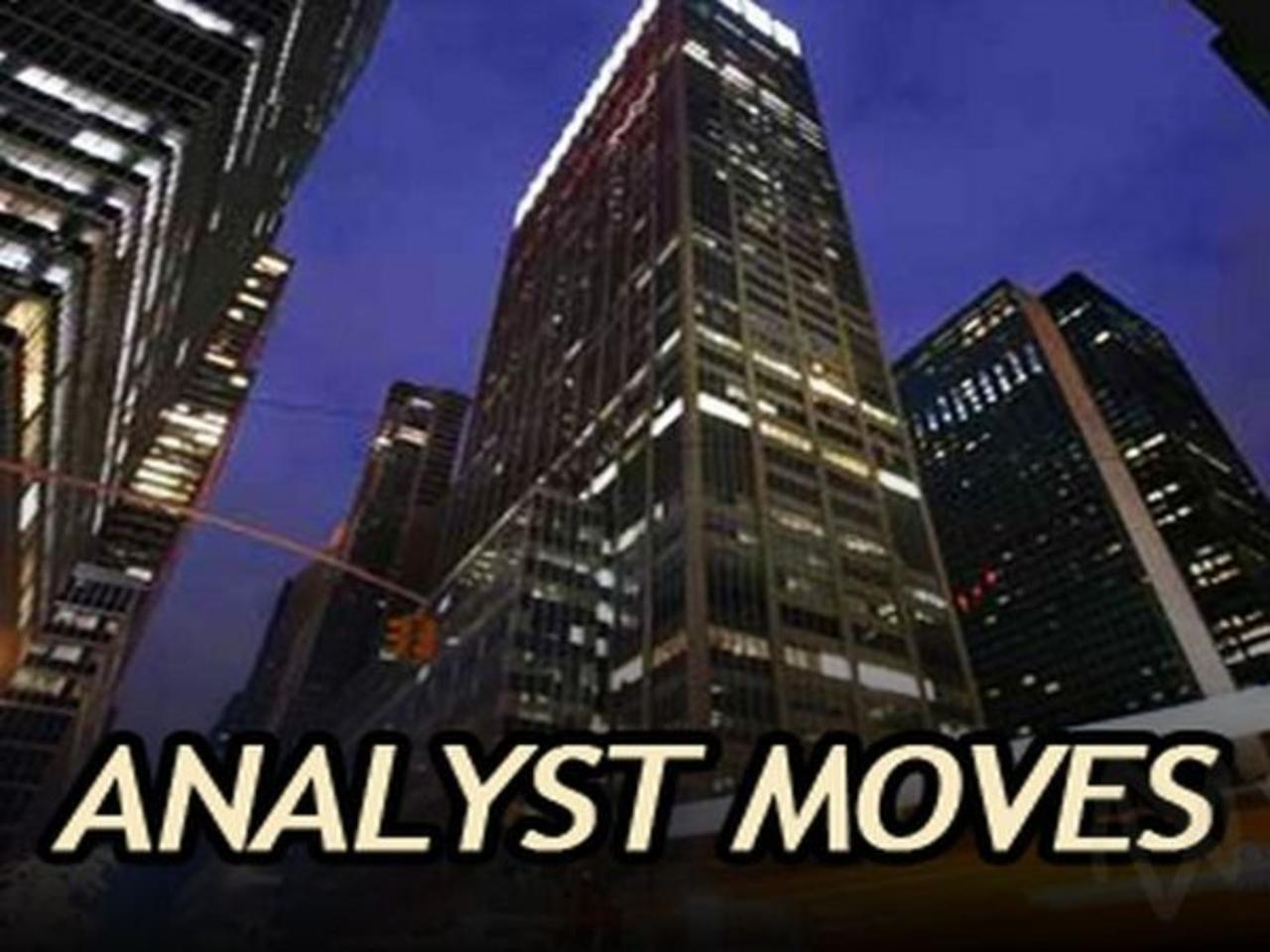 S&P 500 Analyst Moves: TECH