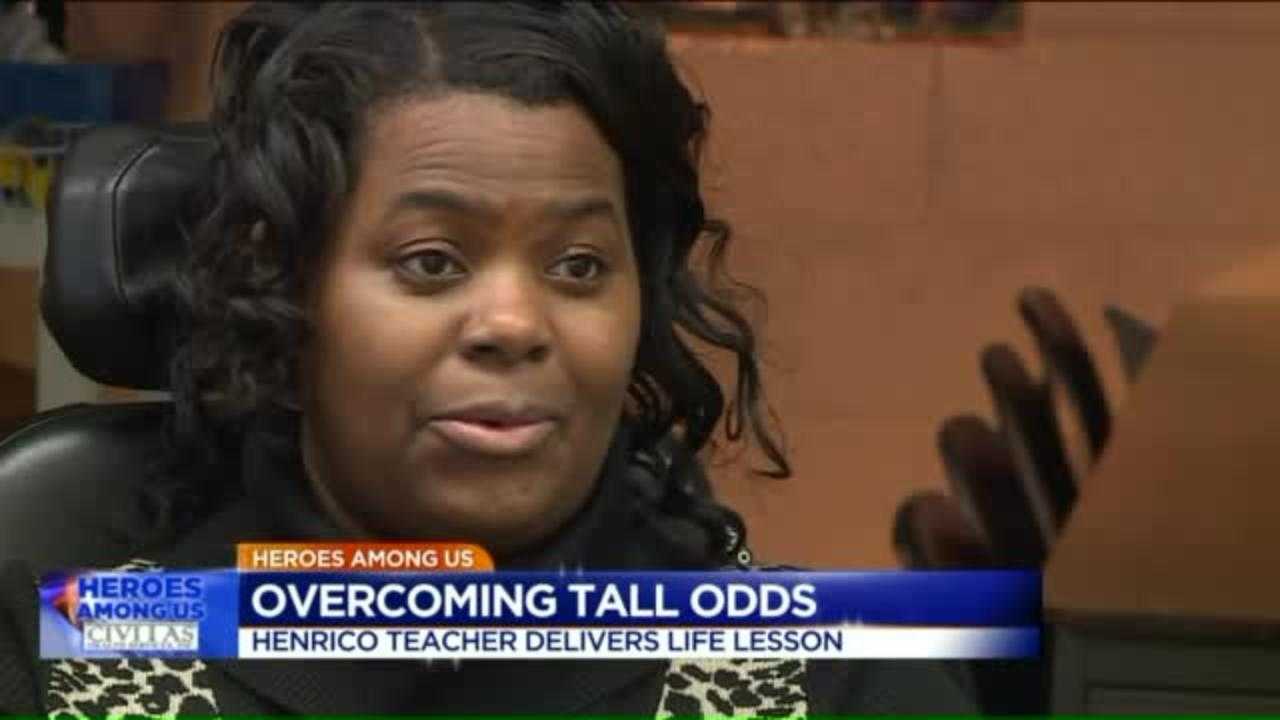 Teacher with Muscular Dystrophy inspires students