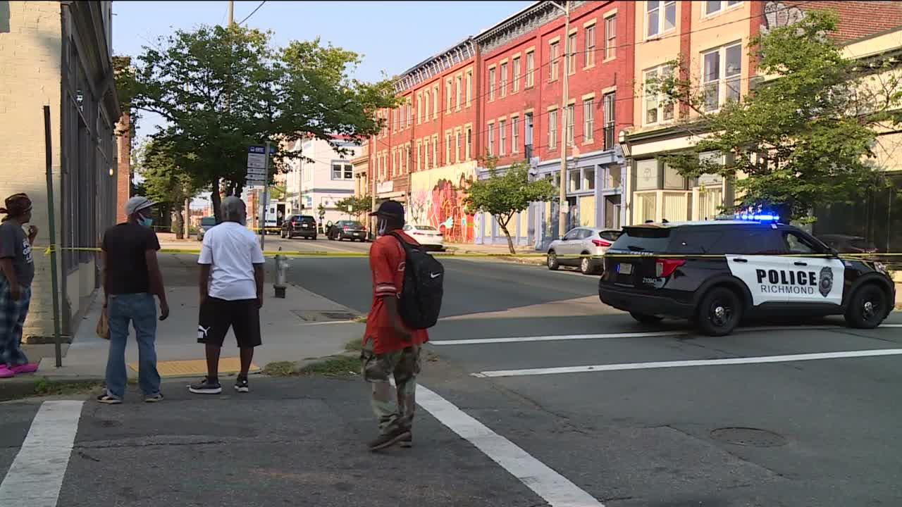 Father killed on Richmond street