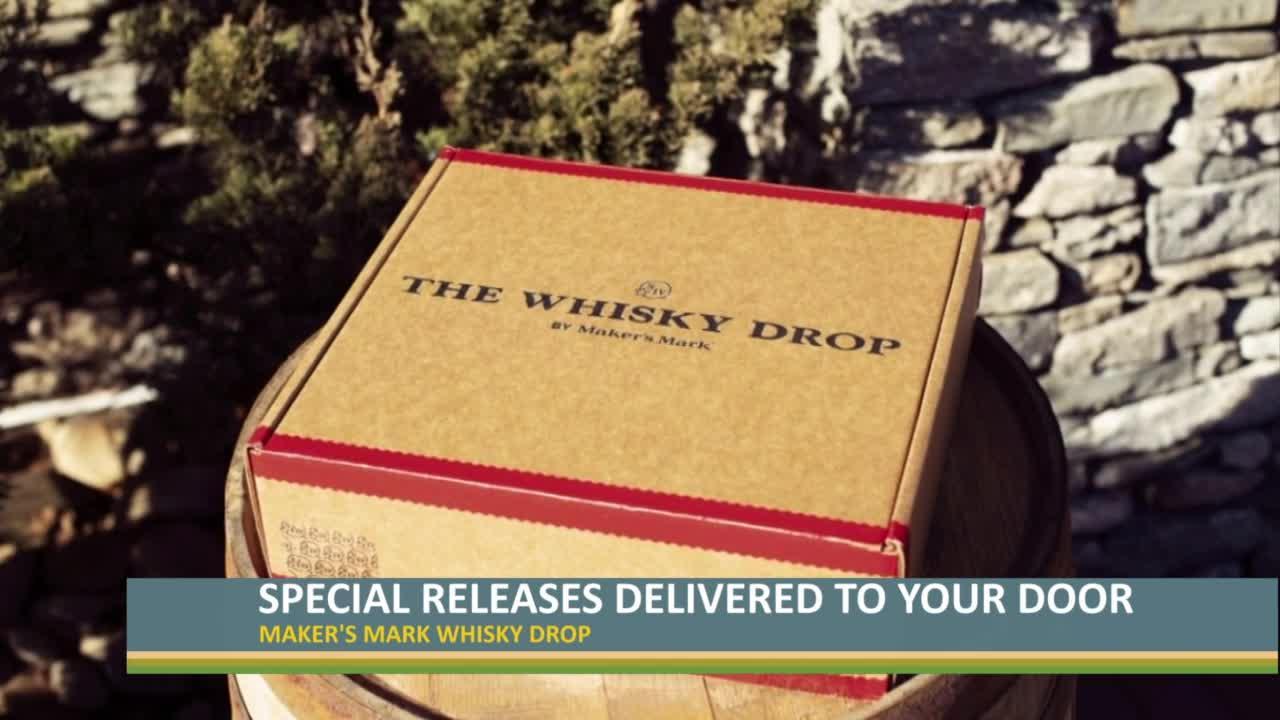 Maker's Mark Whisky Drop