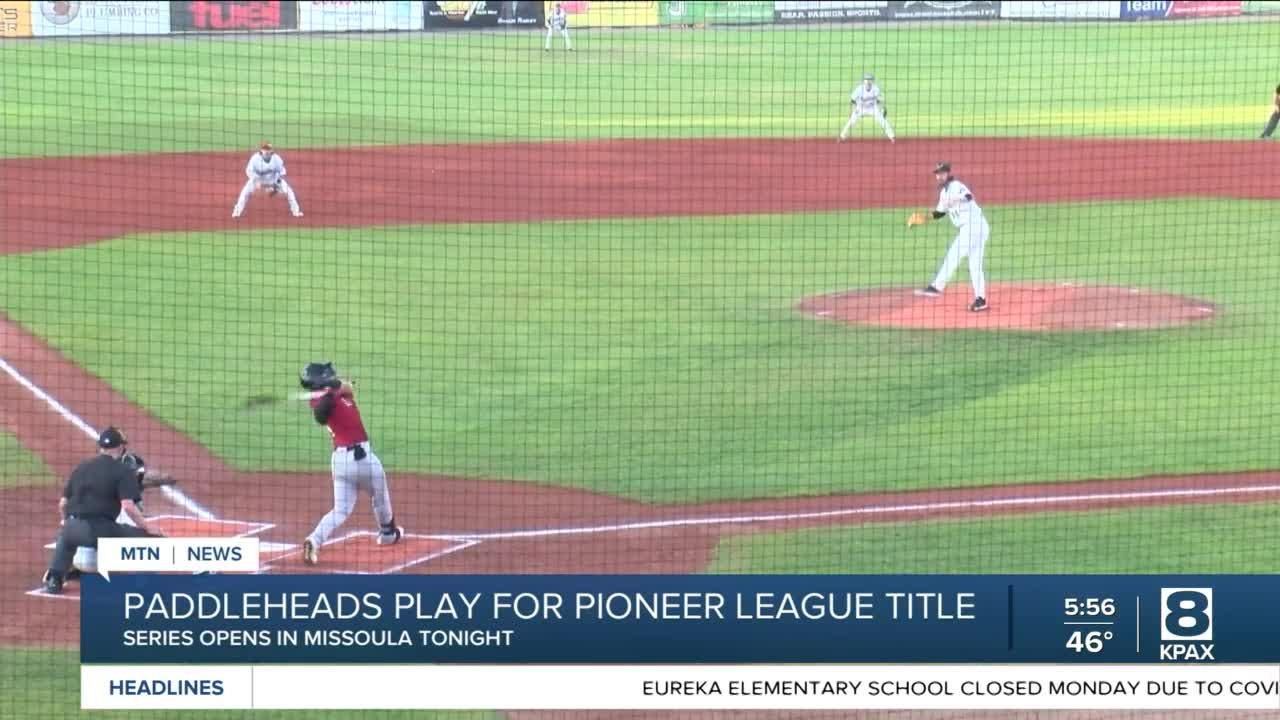 Missoula Paddleheads playing for Pioneer League championship