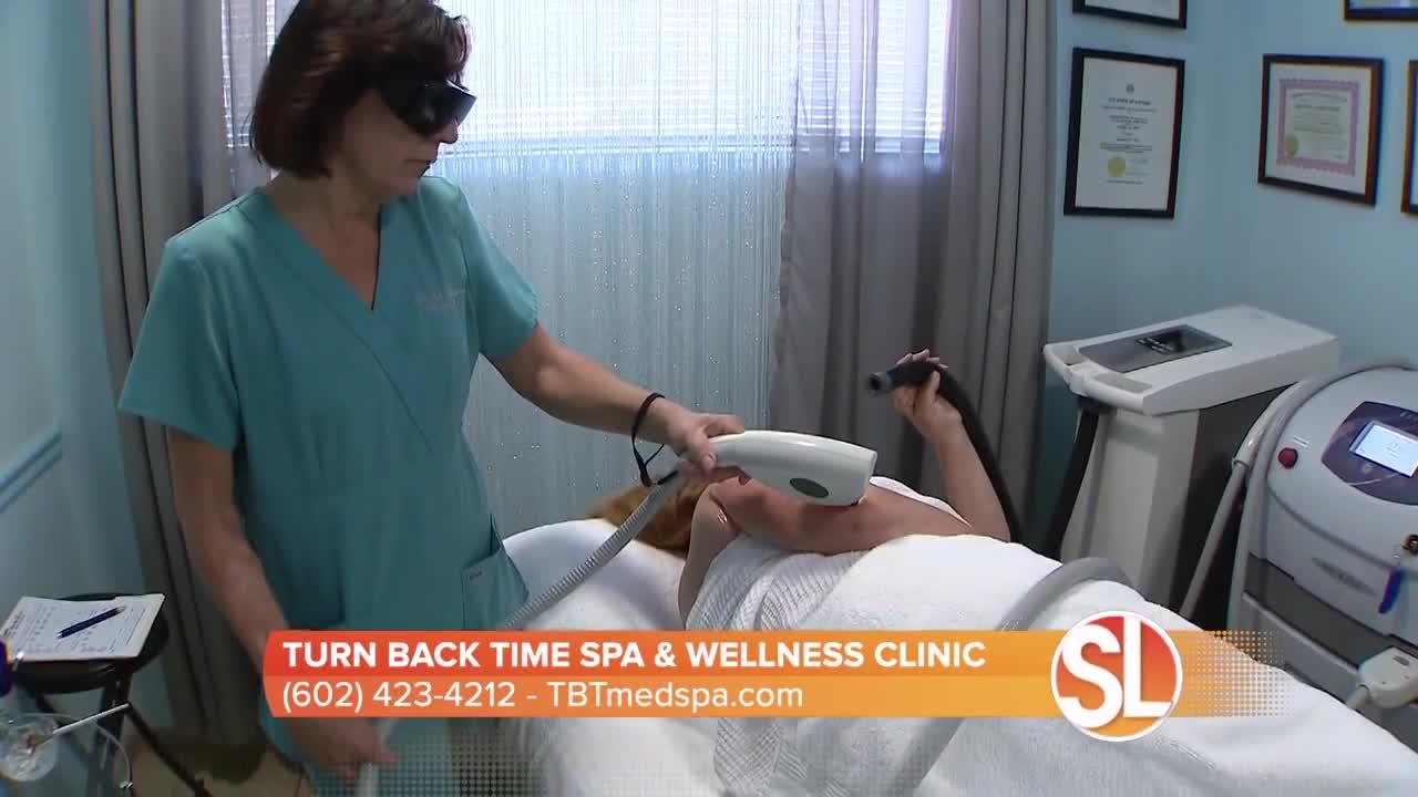 Turn Back Time Spa & Wellness Clinic offers up a treatment for your skin that removes dark spots and acne scars