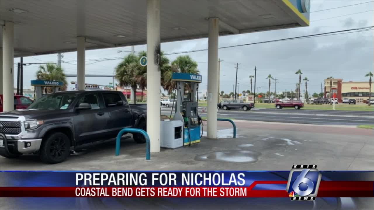 Corderro McMurry reports live from Padre Island about preparations before Tropical Storm Nicholas arrives.
