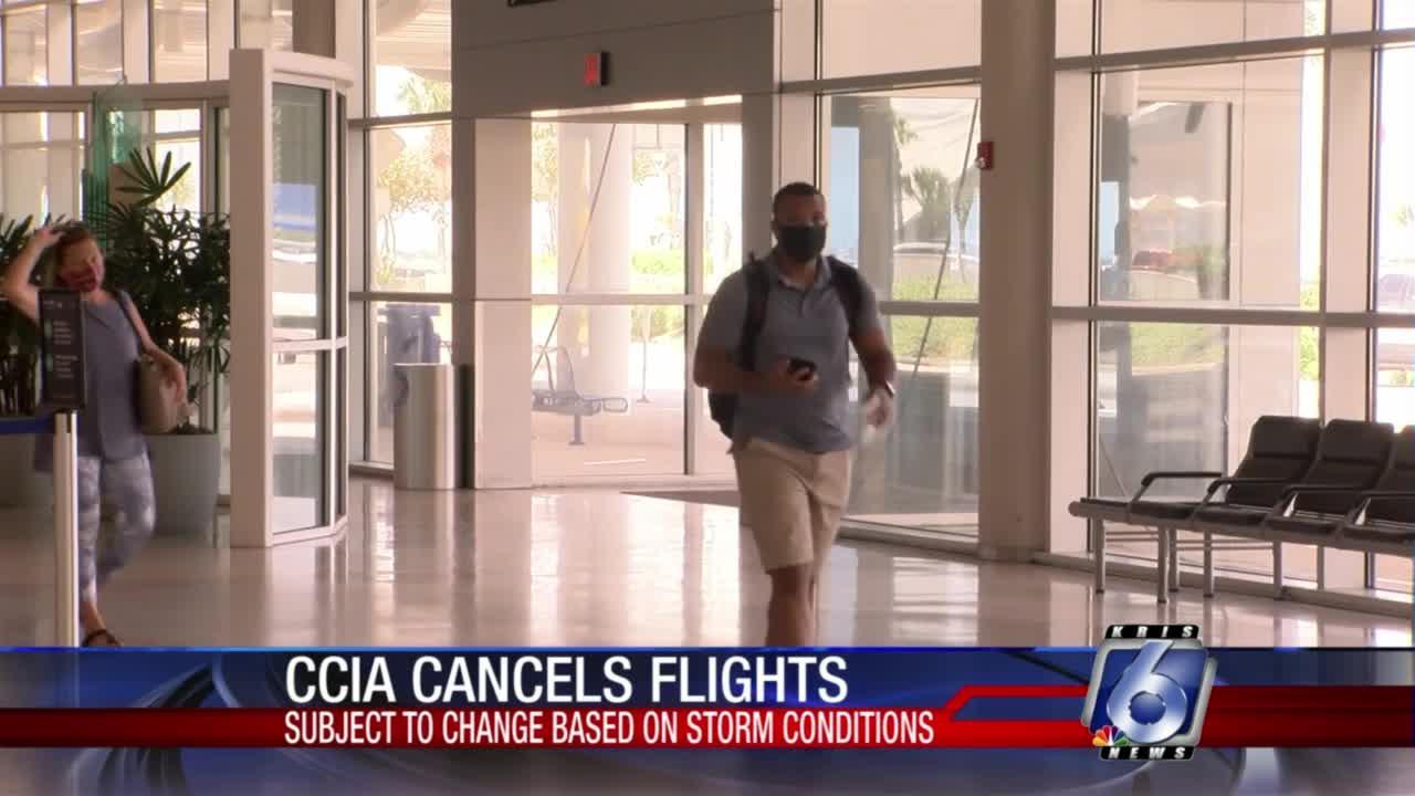 Several flights canceled at Corpus Christi International Airport