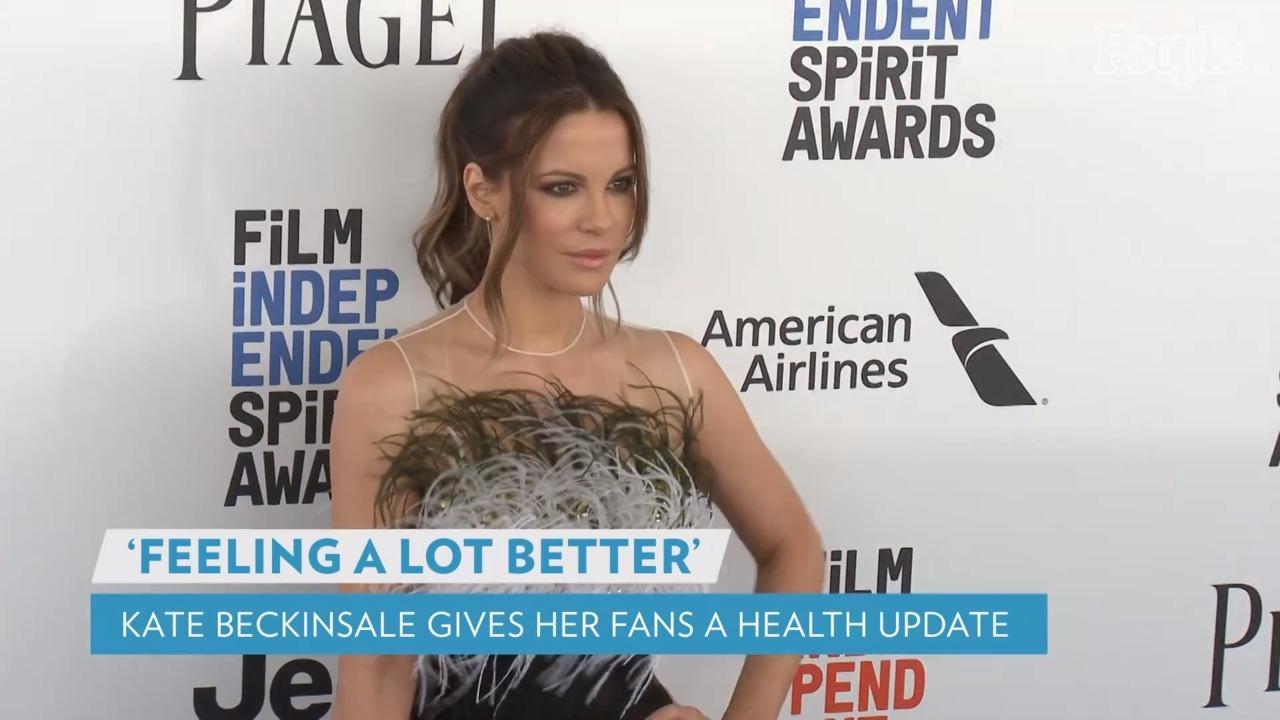 Kate Beckinsale Says She's 'Feeling a Lot Better' After Hospitalization