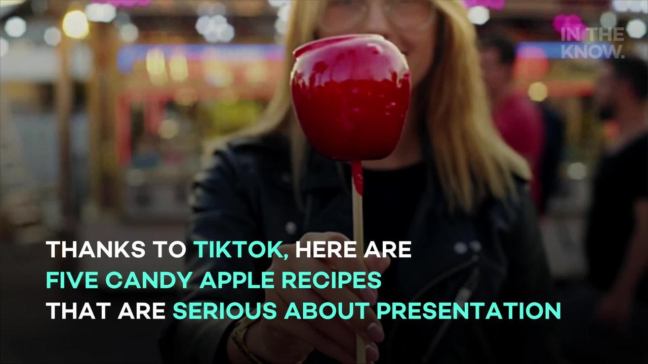 5 cool candy apple recipes for fall
