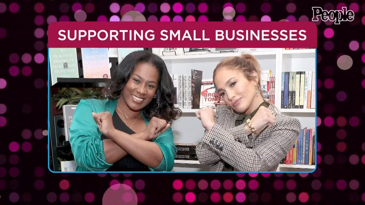 Jennifer Lopez Steps Out in Hometown of the Bronx to Support Latina-Owned Small Businesses