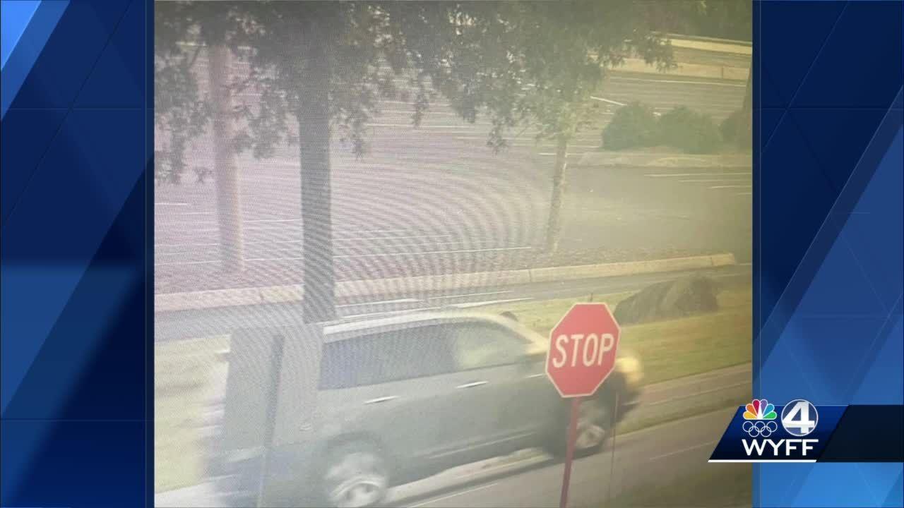 Surveillance photos show getaway vehicle in Greenville County 9/11 tribute vandalism, deputies say