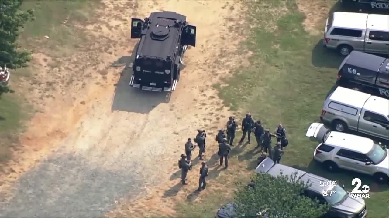 Search underway in Anne Arundel County for teen accused of firing shots at police car