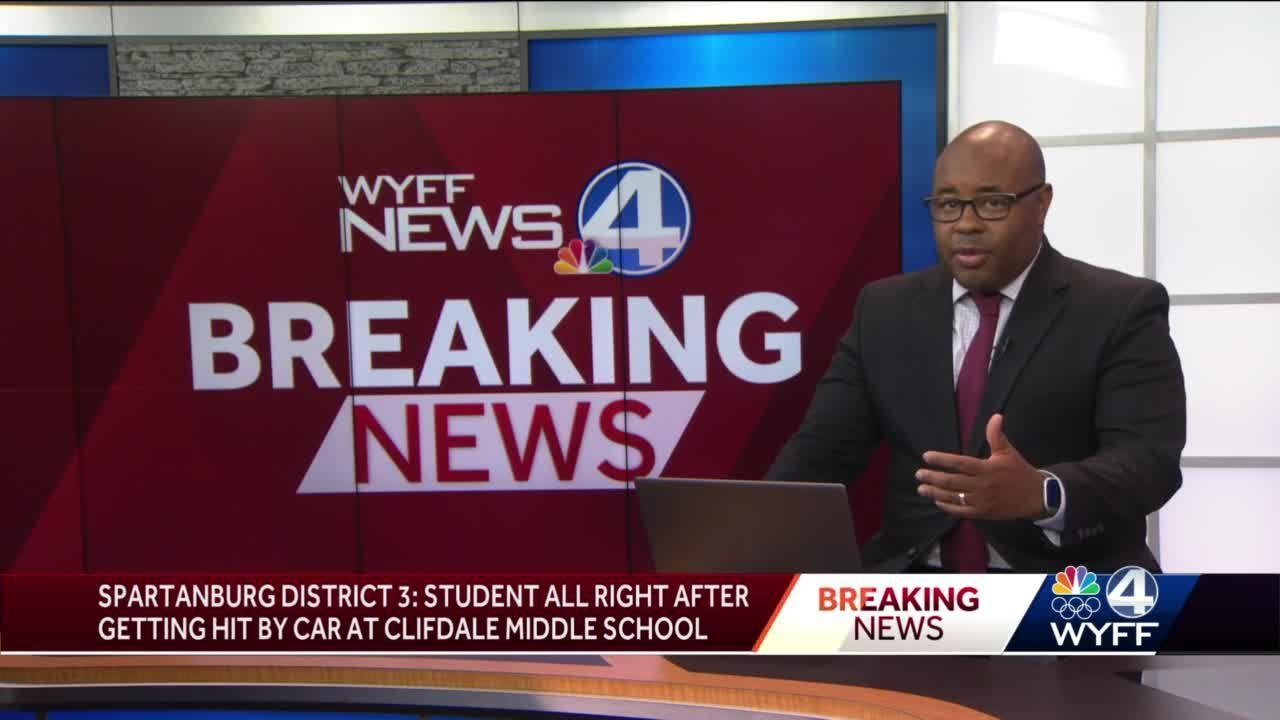 Student hit by car in pickup line of Clifdale Middle School, district says