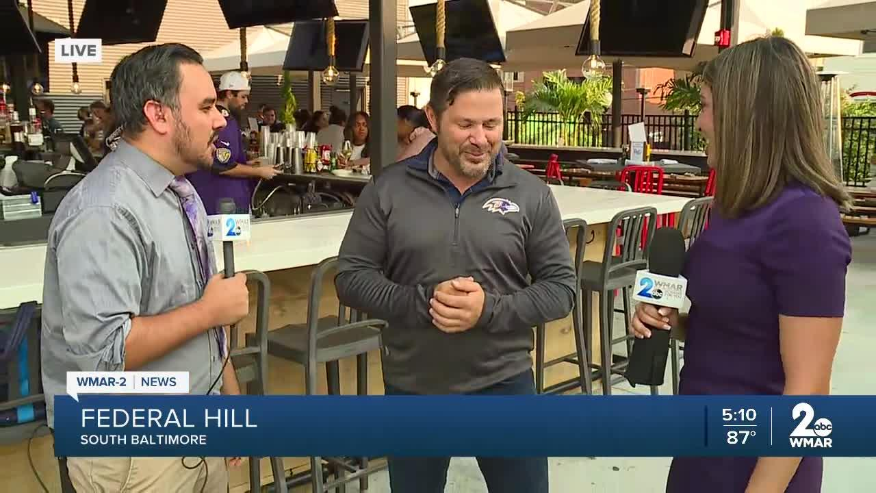 Bars and restaurants prepare for the Ravens