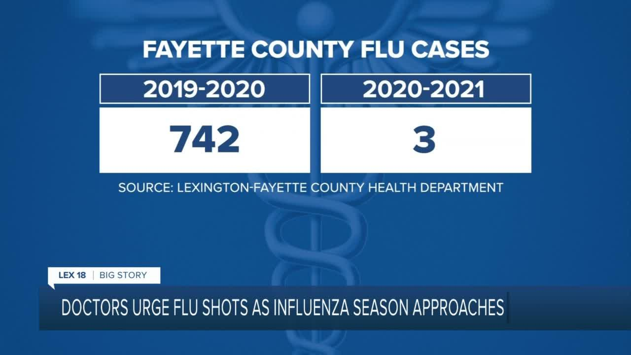 Doctors urge flu shots as influenza season approaches