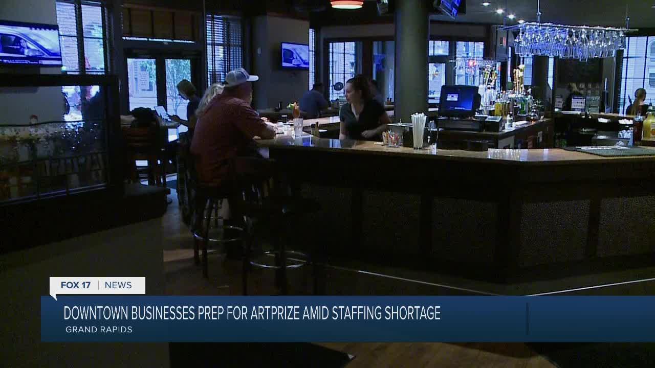 Restaurants Deal with Staffing as ArtPrize Begins
