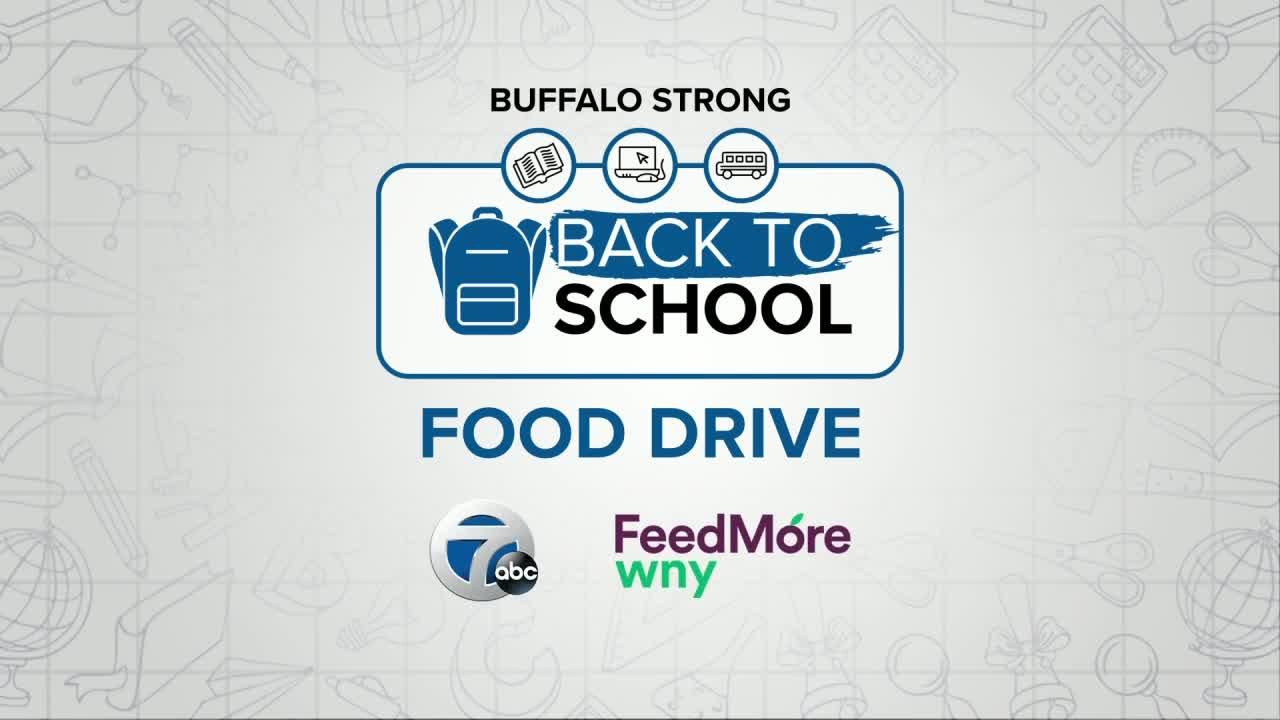 AM Buffalo will be live in two locations Thursday for food drive