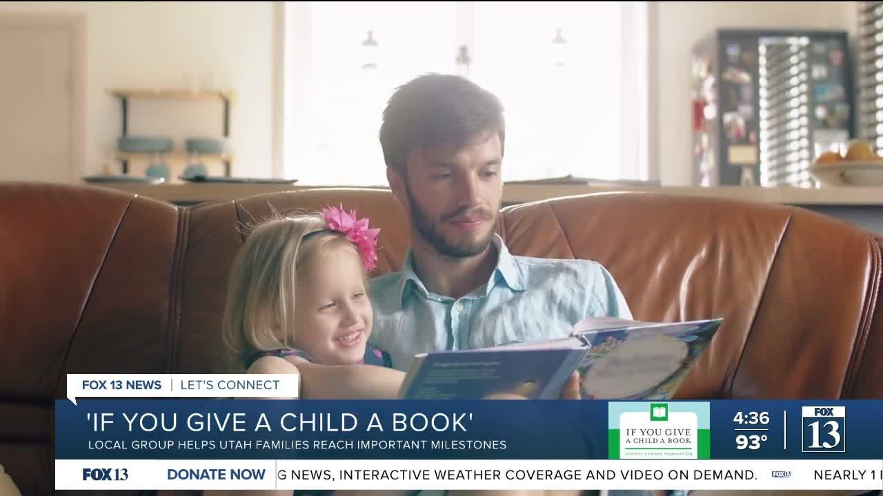 If You Give a Child a Book: Local group helps Utah families reach important milestones