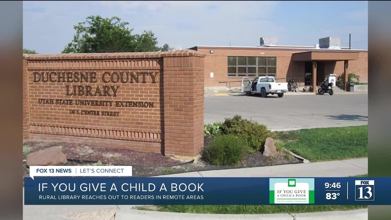 If You Give a Child a Book: Rural library reaches out to readers in remote areas