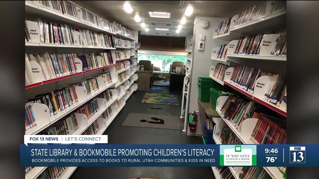 If You Give a Child a Book: State library and bookmobile getting books to kids in need