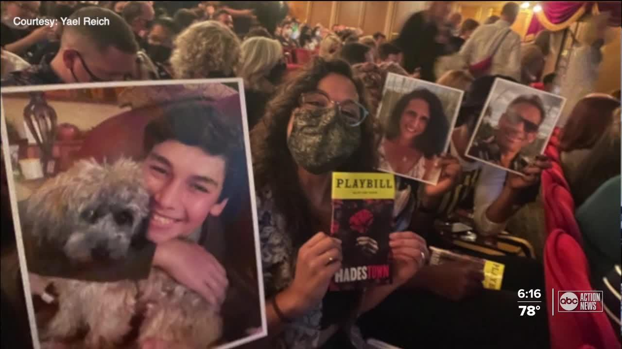 Seminole family sends photos to support daughter during Broadway debut