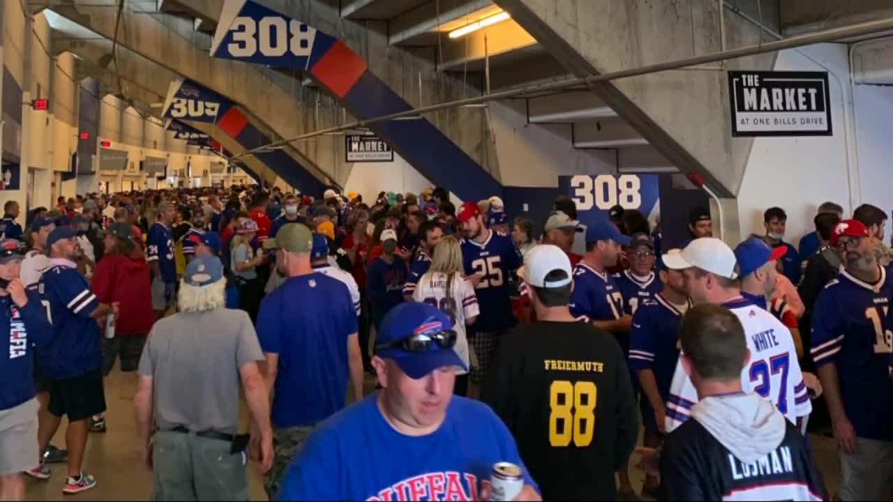 Bills fans react to stadium mask policy