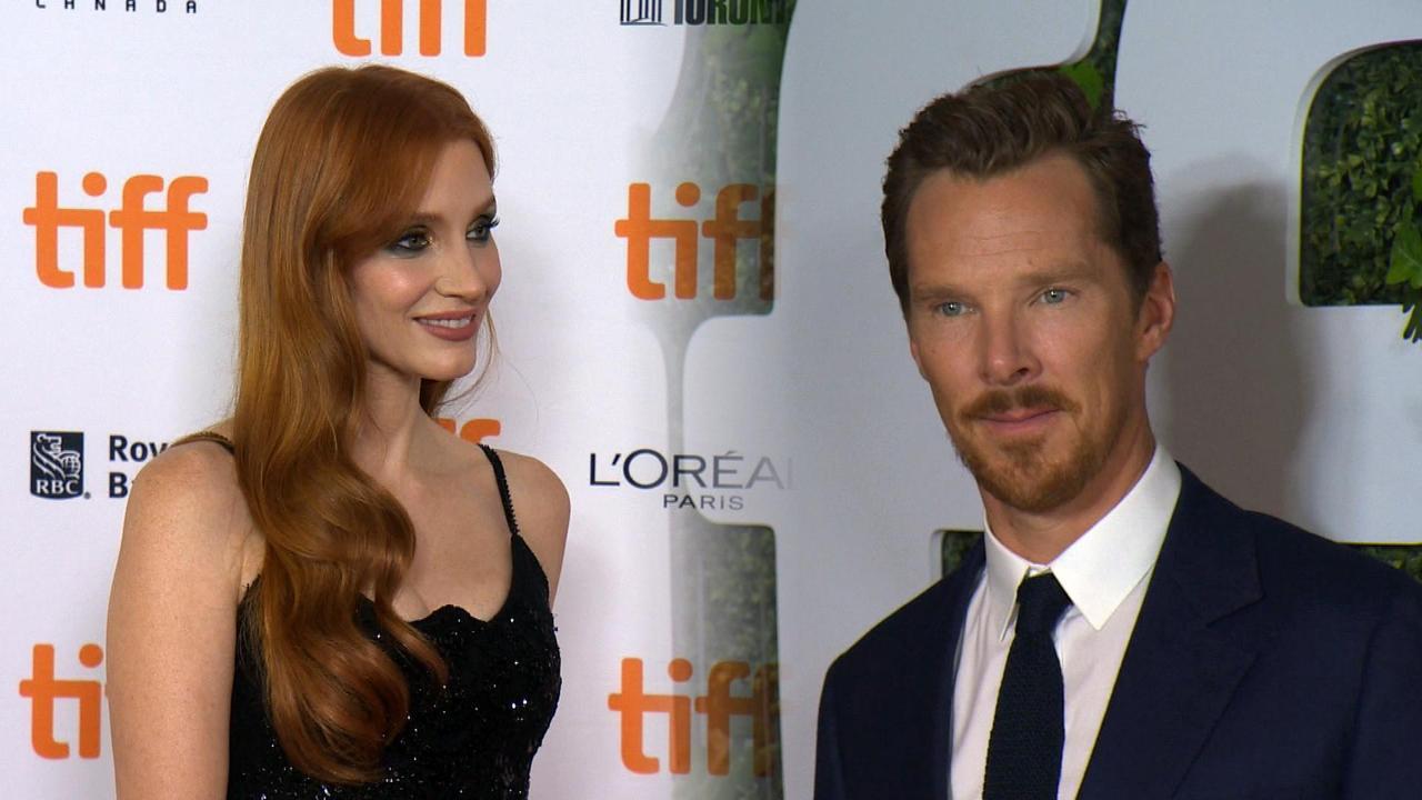 Jessica Chastain, Benedict Cumberbatch TIFF Red Carpet Premieres