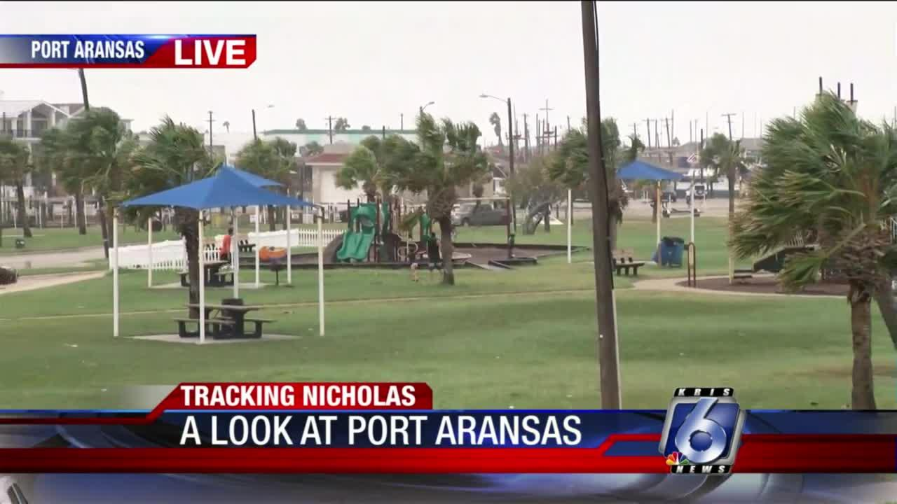 Port Aransas conditions 5 p.m.