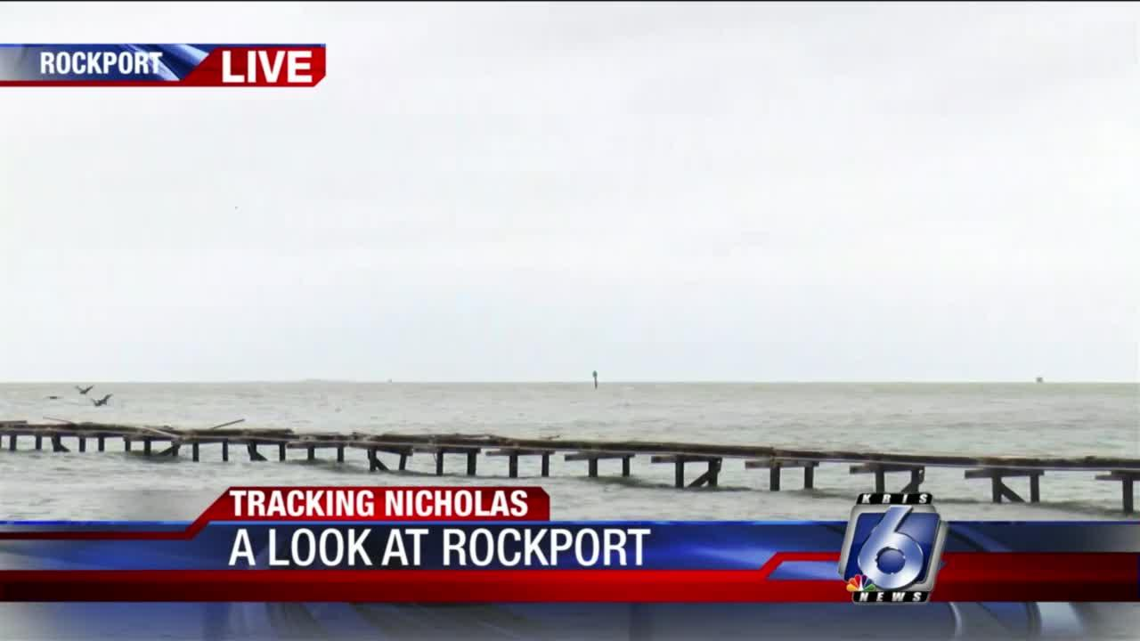 Rockport conditions 5 p.m.