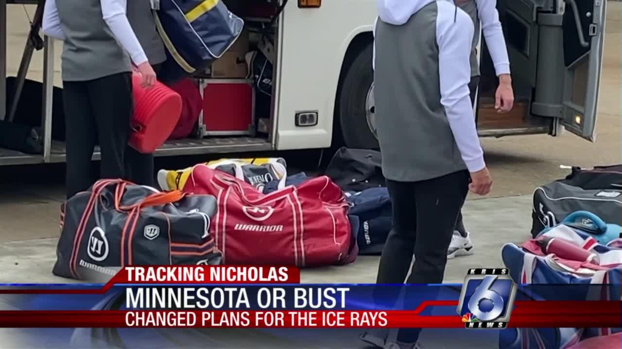 Change of plans for Ice Rays as flights out of CCIA canceled