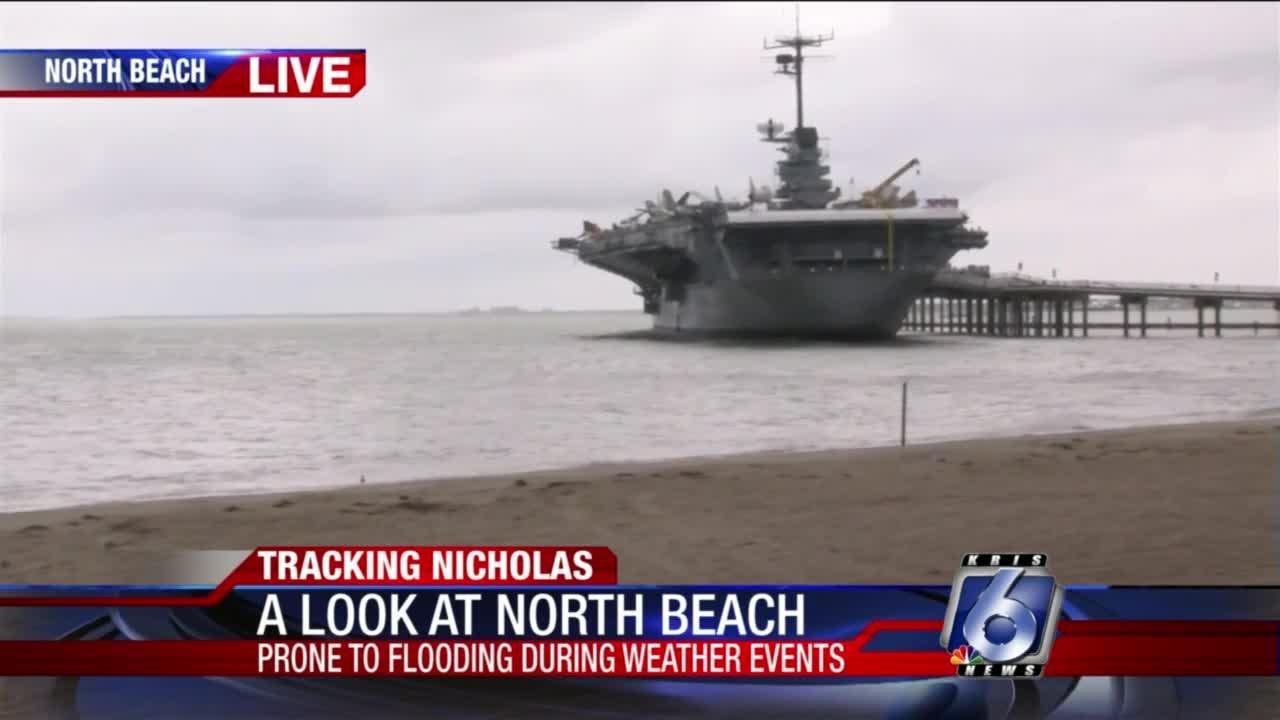 North Beach conditions 5 p.m.