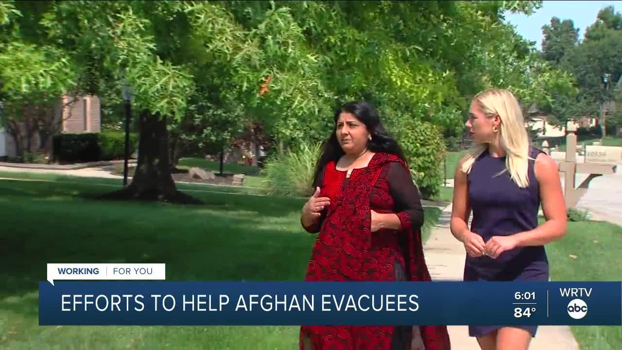 Local groups work to help Afghan refugees