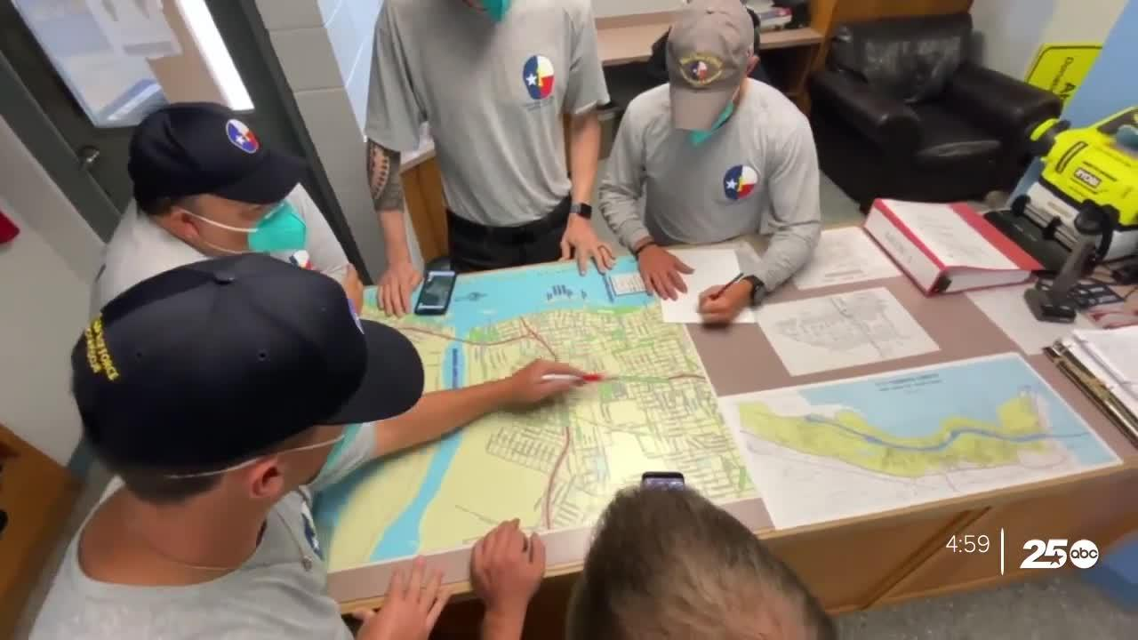 Texas A&M Task Force 1 changes strategy ahead of Tropical Storm Nicholas