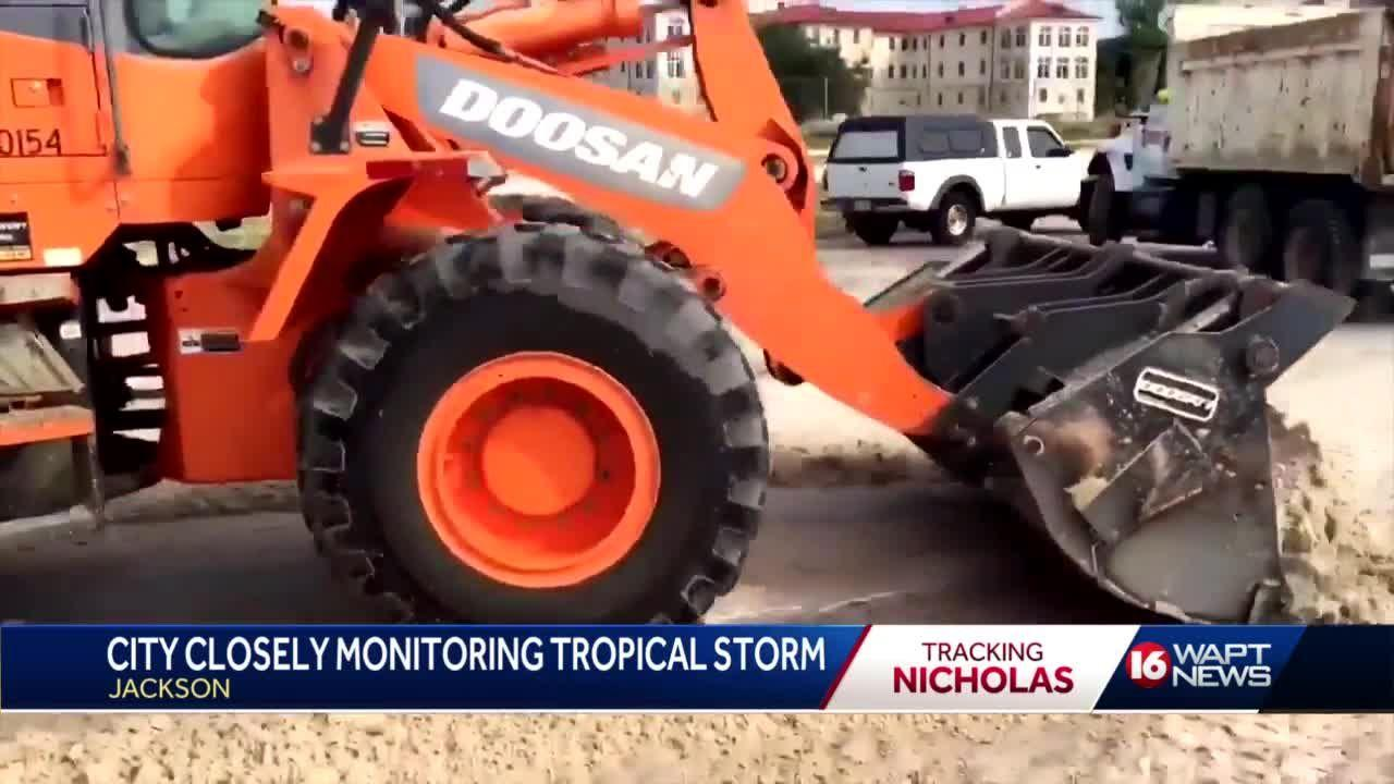 City of Jackson keeps eye on Nicholas