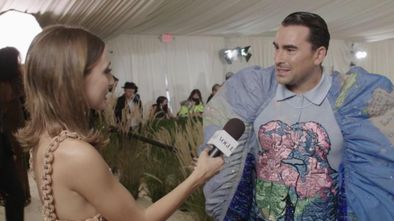 Dan Levy Gets Wedding Vibes From The Met Gala
