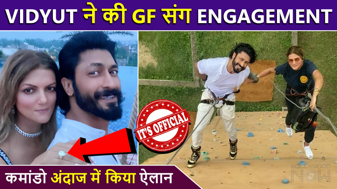 CONFIRMED ! Vidyut Jammwal Makes It Official With GF Nandita Mahtani, Proposes In Commando Style