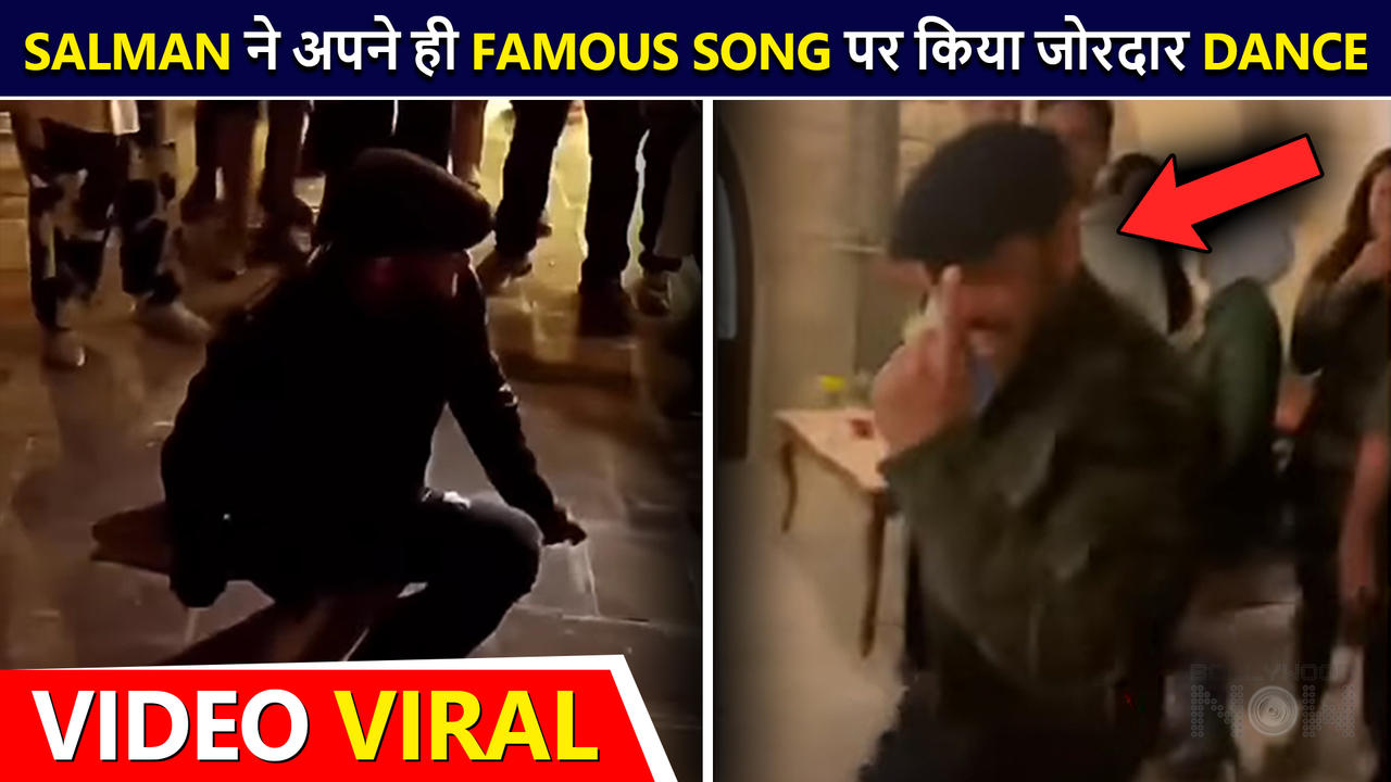 Salman Khan's ENERGETIC Dance On 'Jeene Ke Hain 4 Din' Goes Viral | Grooves With Fans | Tiger 3