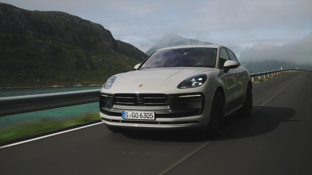 The new Porsche Macan GTS in Crayon Driving Preview
