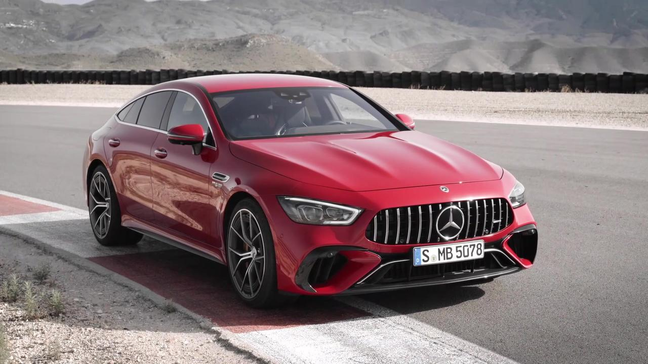 The all-new Mercedes‑AMG GT 63 S E PERFORMANCE Exterior Design