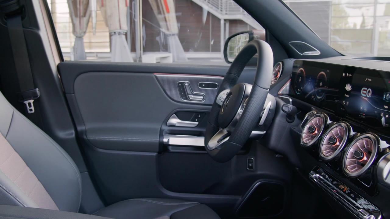 The new Mercedes-Benz EQB Interior Design