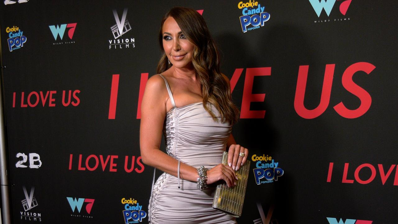 """Diana Madison attends the """"I Love Us"""" premiere red carpet in Los Angeles"""